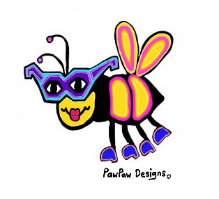 Beatrice the Bee PawPaw Designs