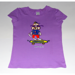 KIDS T-Shirt Purple Billie